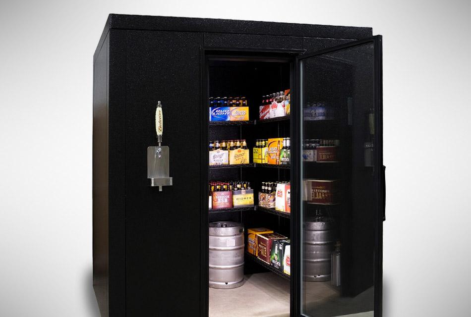 Brew Cave Beer Cooler & Kegerator