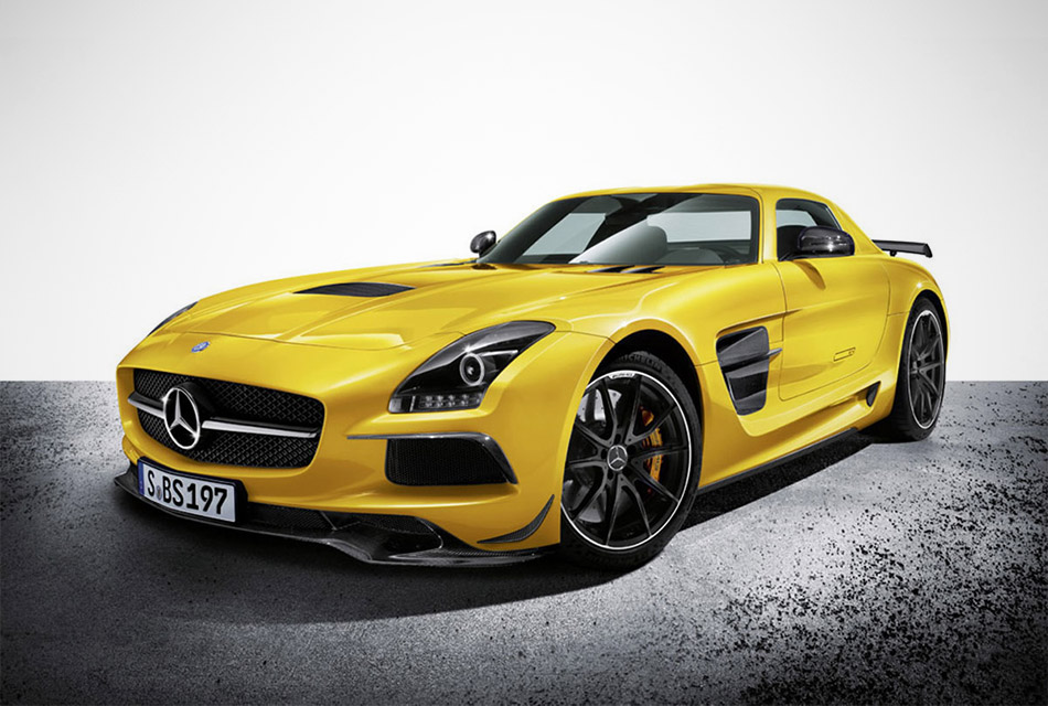 Mercedes SLS AMG Black Series