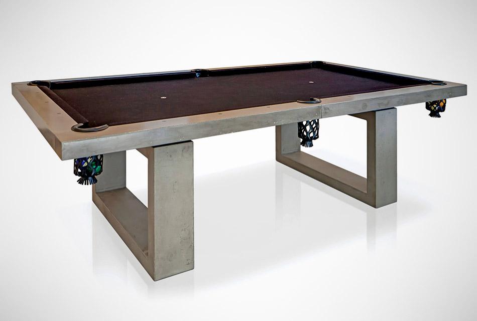 Concrete Pool Table