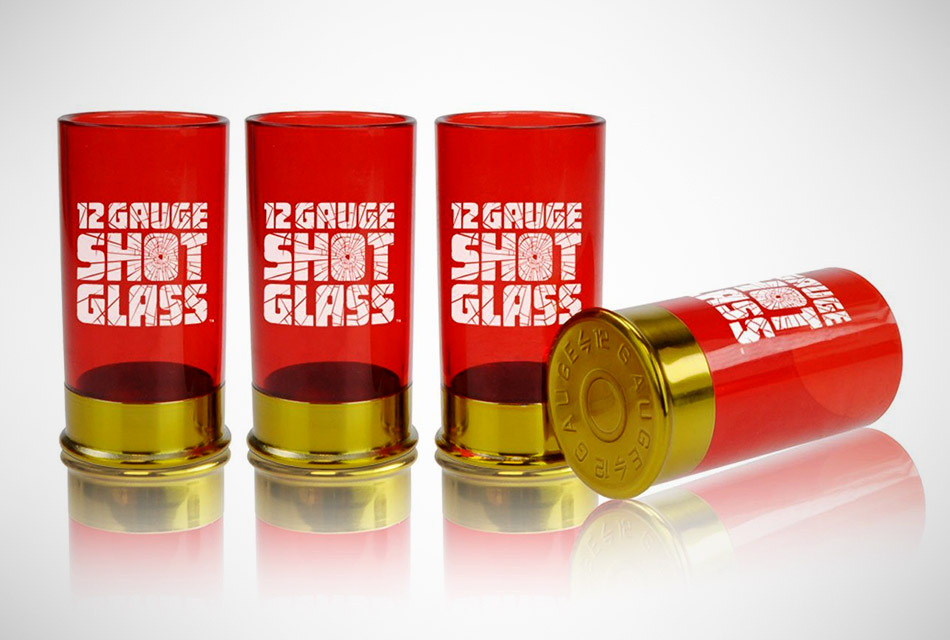 12 Gauge Shotgun Shells Shot Glasses