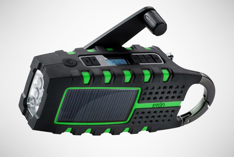 Solar Crank Emergency Radio