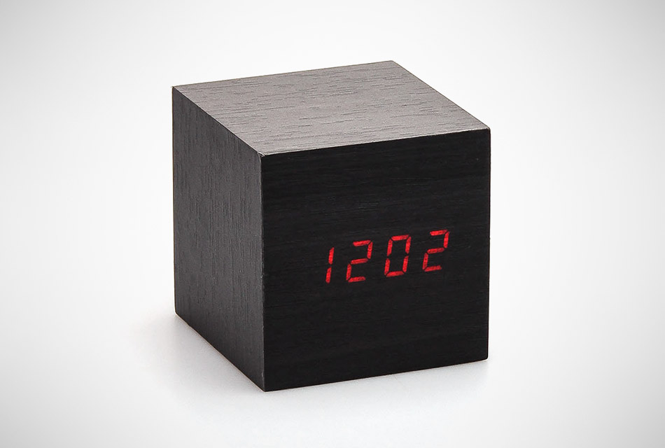 Clap-On Wooden Alarm Clock