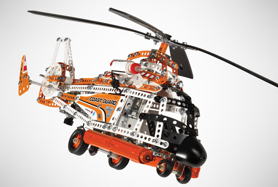 Erector Evolution Helicopter