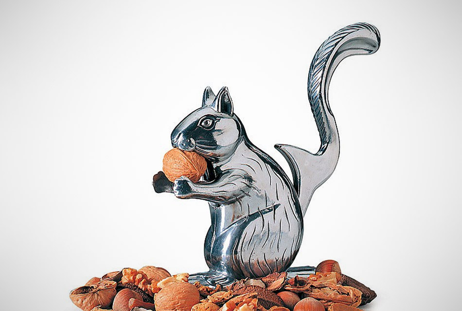 Nutty Squirrel Nutcracker