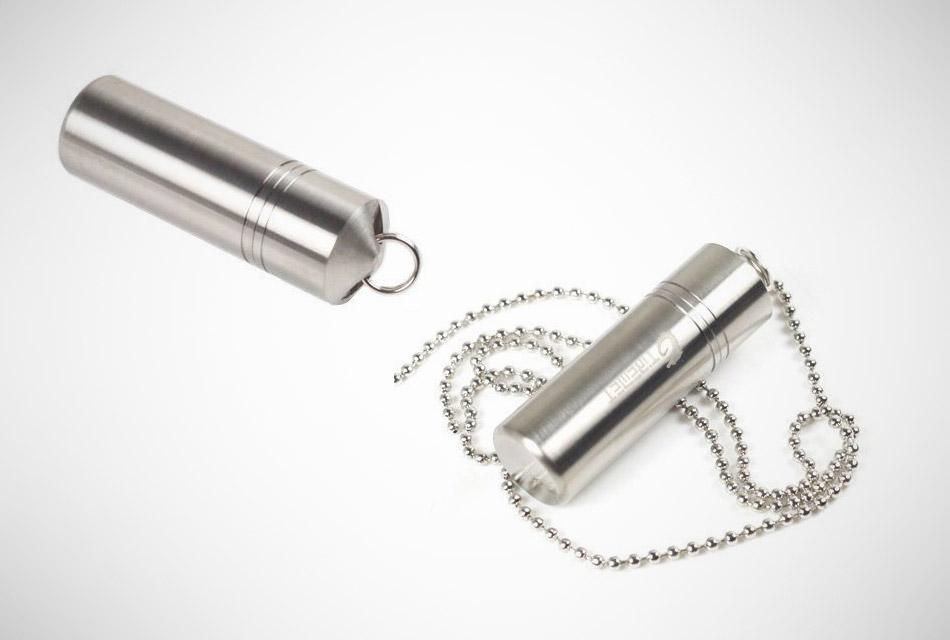 Titanium Medicine Capsule