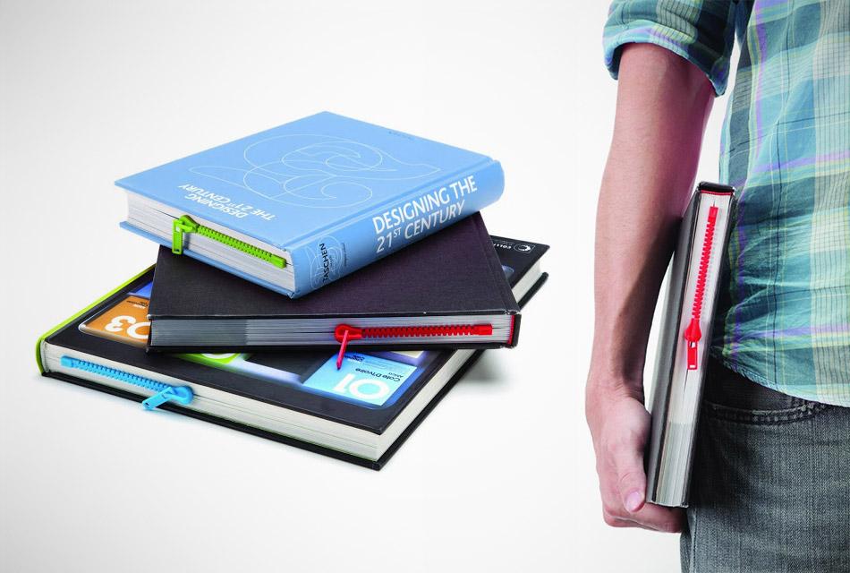 Zipper Bookmark