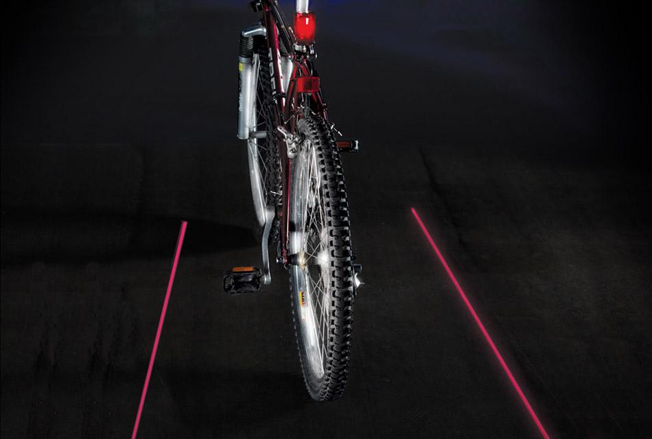 Cyclist's Virtual Safety Lane