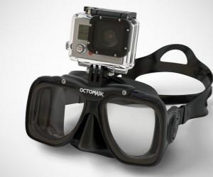 GoPro Hero 3+ Compatible Scuba Mask