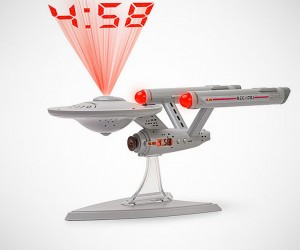 Star Trek Enterprise Projecting Alarm Clock