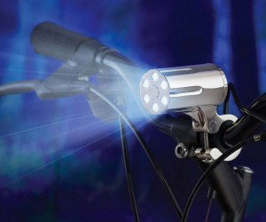 Theft Resistant Bicycle Light