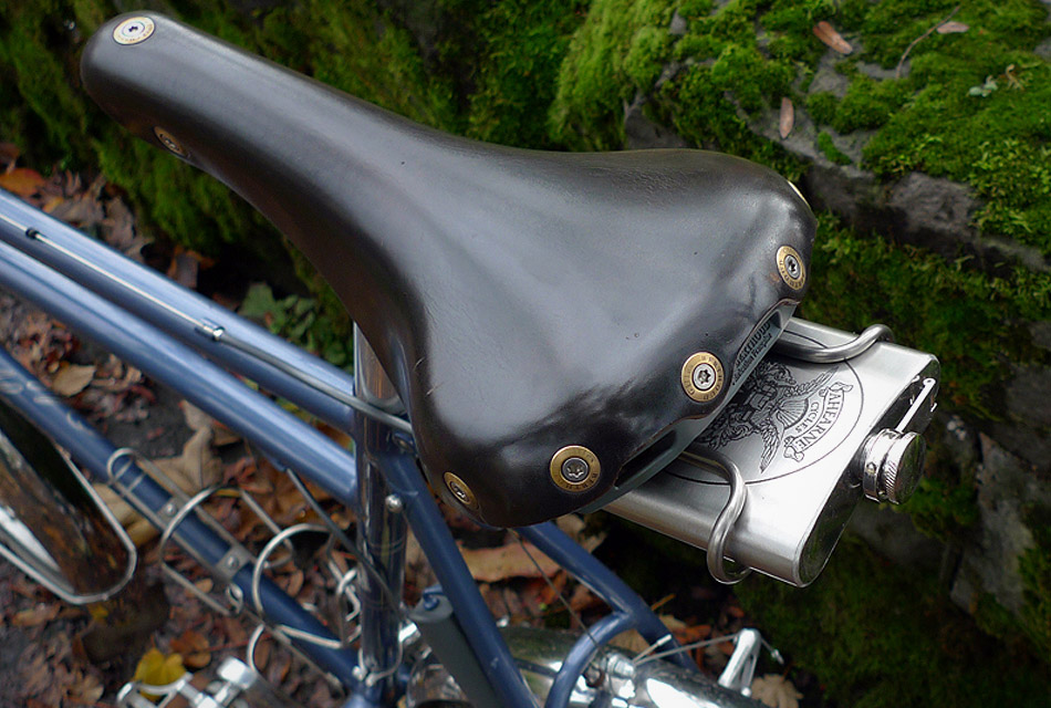 Bicycle Seat Mounted Flask Carrier