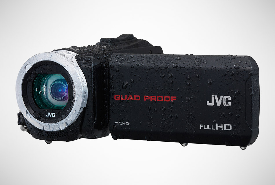 JVC Quad Proof HD Camcorder