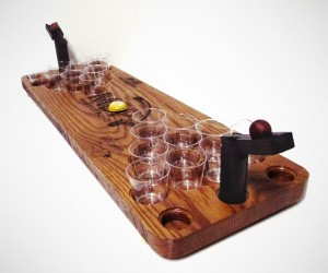Deluxe Mini Beer Pong Kit