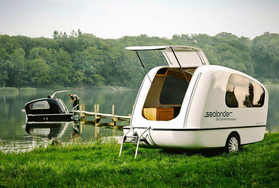 Sealander Swimming Caravan