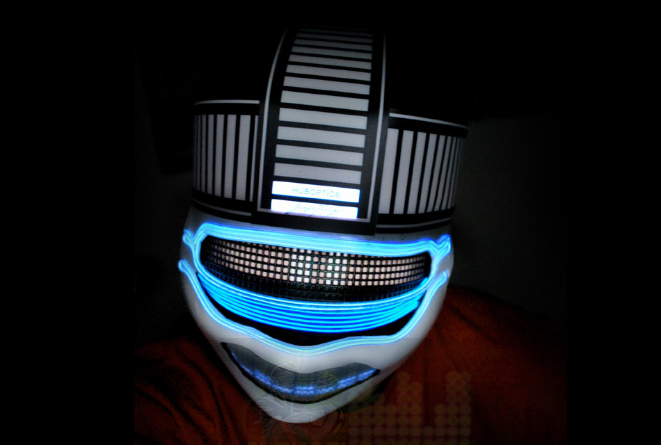 Huboptic LED Light Up Mask