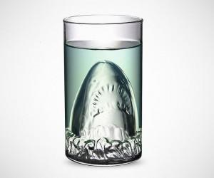 Shark Glass Beer Mug