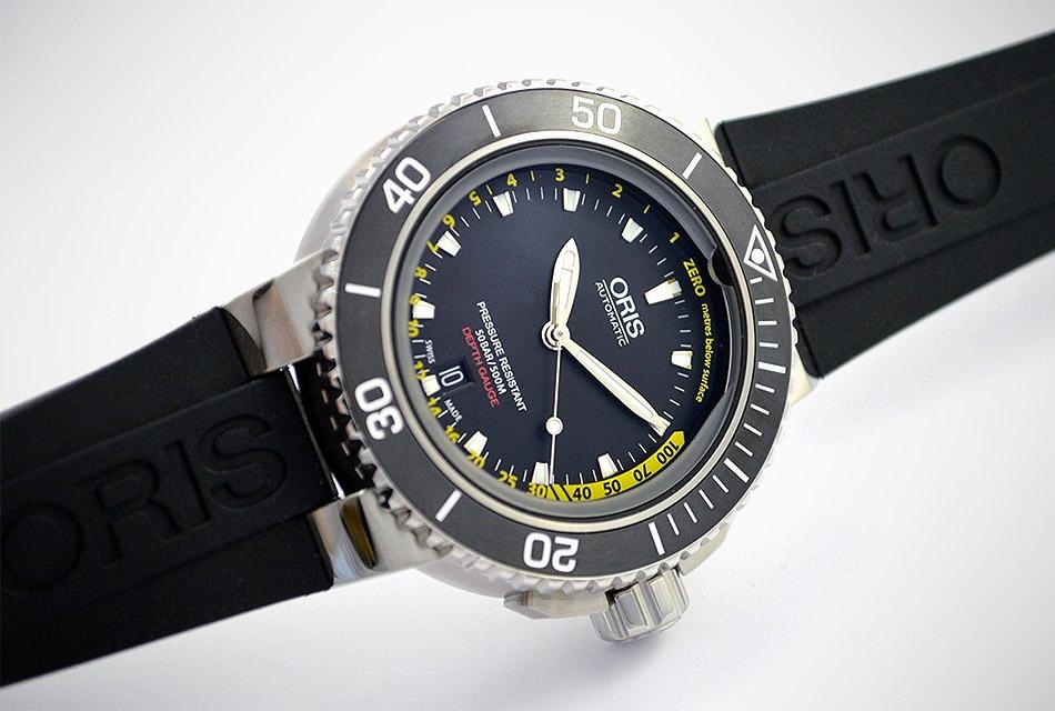 Oris Aquis Depth Gauge Watch