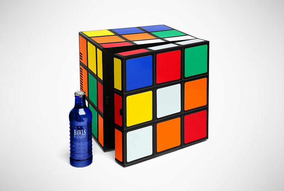 Rubik 's Cube Fridge