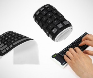 Bluetooth Wireless Flexible Foldable Keyboard