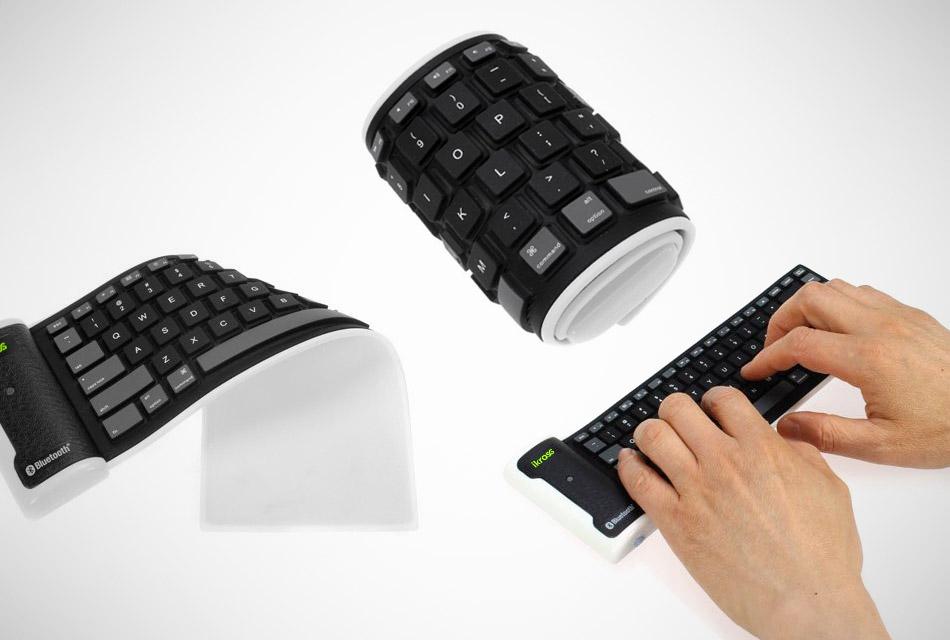 Bluetooth Wireless Flexible Foldable Keyboard