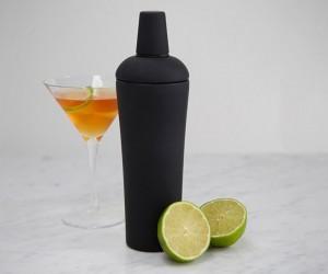 Black Nuance Cocktail Shaker