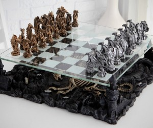 3D Dragon Chess Set