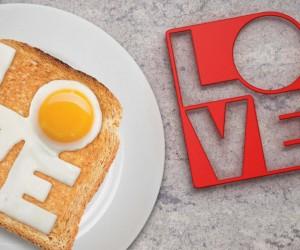 LOVE Fried Egg Mold
