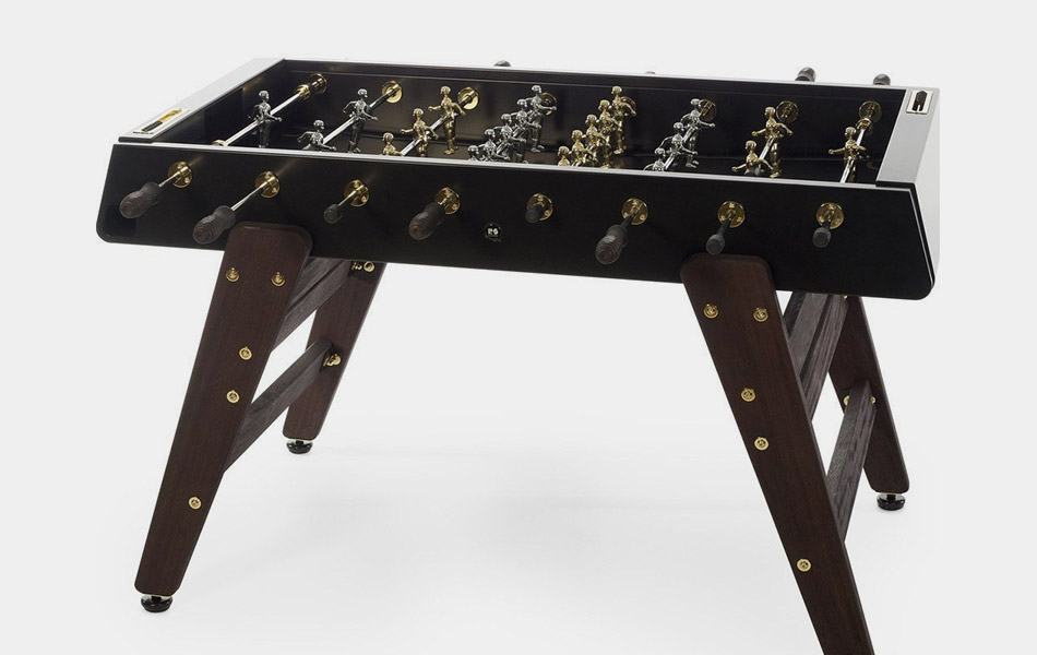 24K Gold Foosball Table