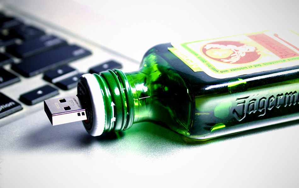 Liquor Inspired USB Flash Drives