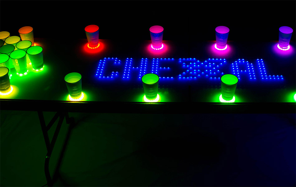 Interactive LED Beer Pong Table X5