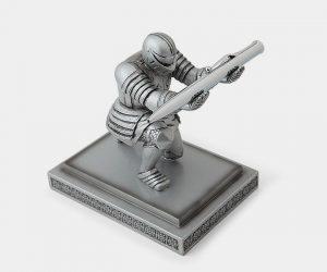 Knight Pen Holder