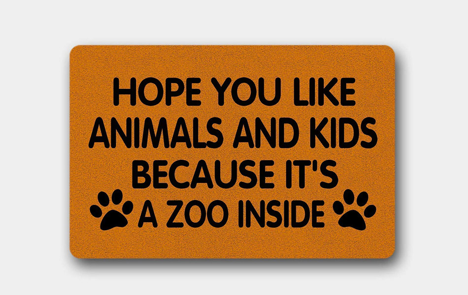 Hope You Like Animals and Kids Because It's a Zoo Inside